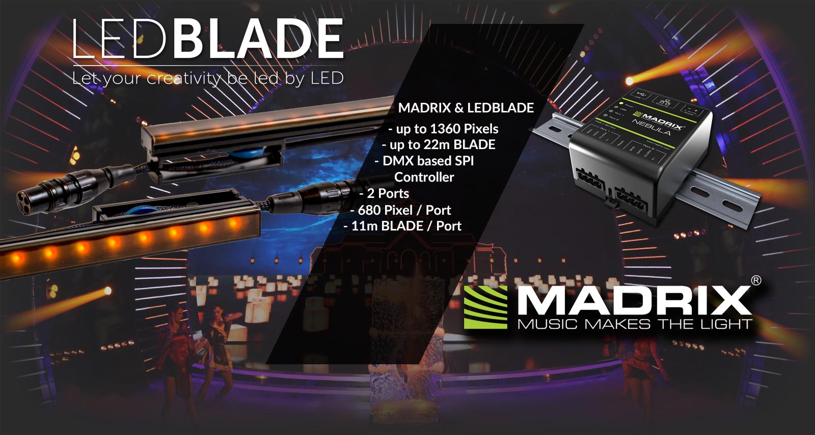 LEDBLADE & MADRIX
